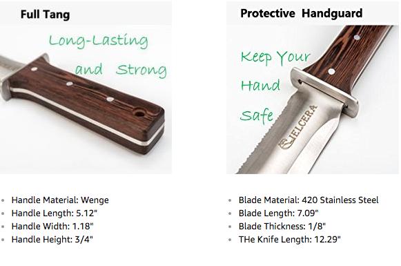 Hori Hori Knife Details